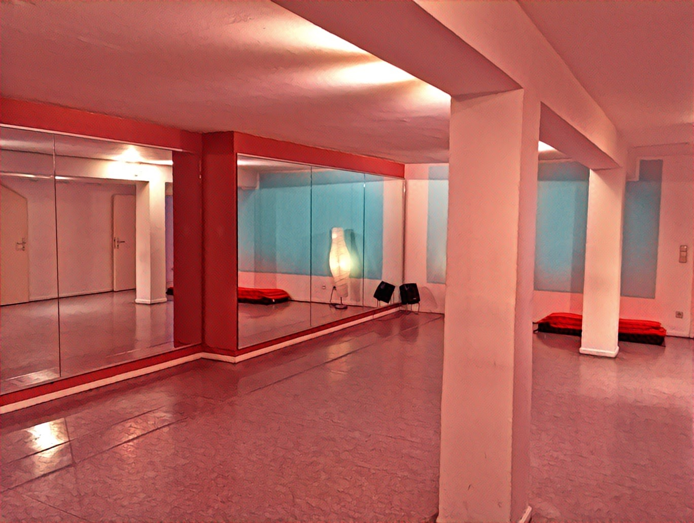 Tanzraum 2, Jump in Tanzschule, Tanzstudio München