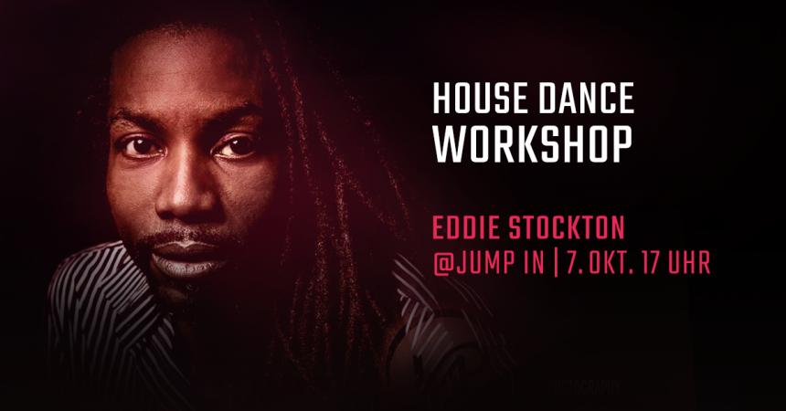 Eddie Stockton, Summer Closing House Dance Workshop, Jump in, Tanzstudio, Tanzschule München