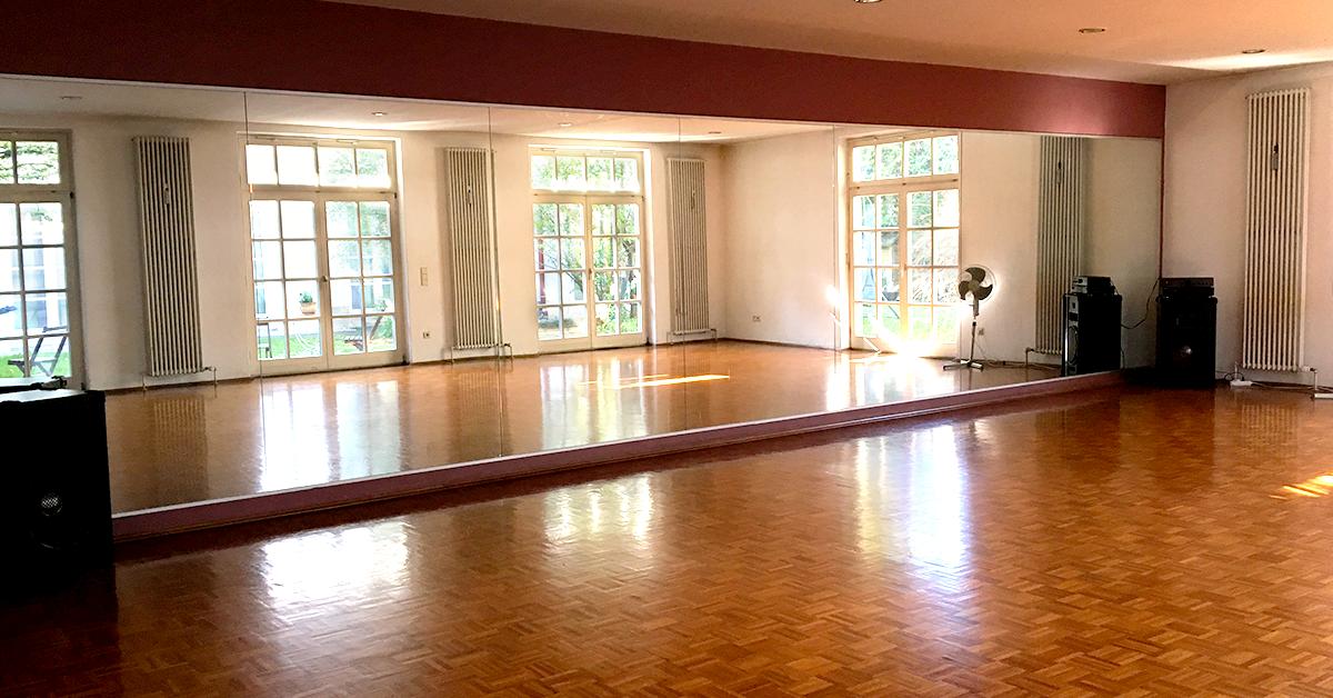 Jump in, Tanzstudio in München, Tanzschule München, Raum 01