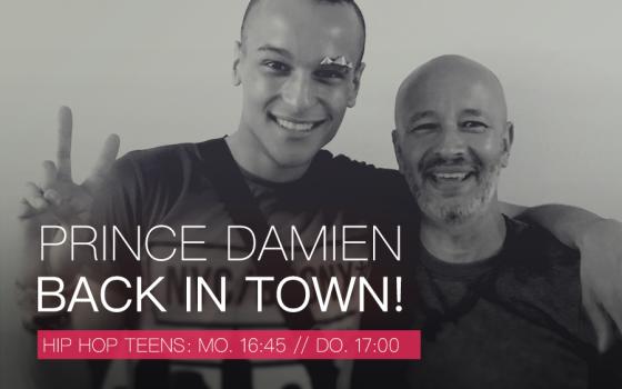 Prince Damien is back!