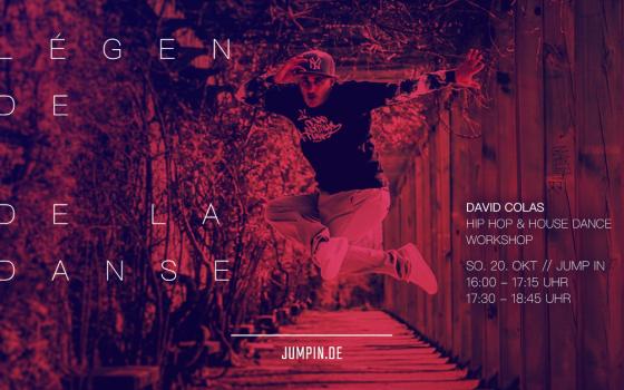 David Colas – HipHop & House Dance Workshop