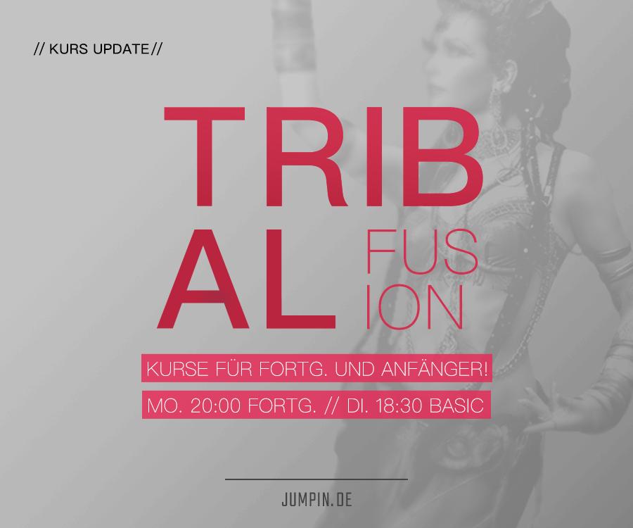 Tribal Fusion – ab 14. Okt. für Fortgeschrittene